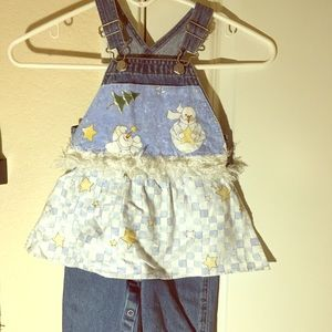 Old navy snowman overalls